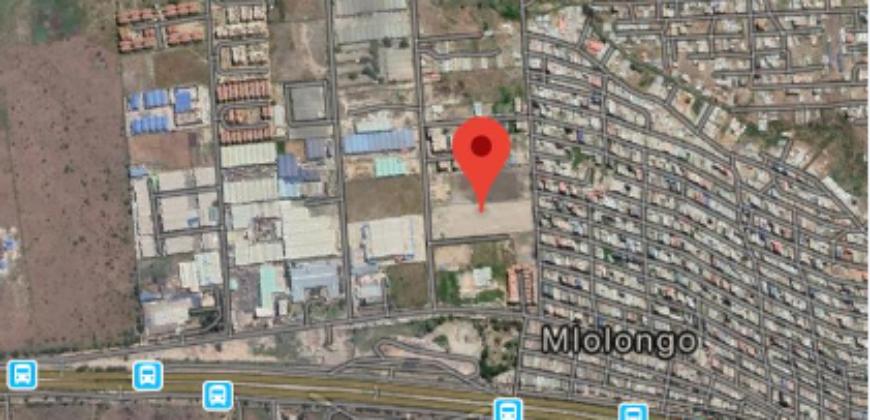 Mlolongo prime 5 acre commercial land for sale